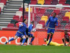 Filip Krovinovic scored Nottingham Forest's equaliser (John Walton/PA)
