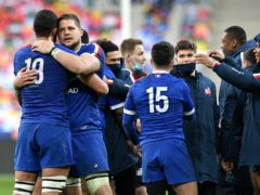 France seized a dramatic win against Wales to stay in the title chase (David Niviere/PA)