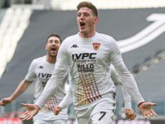 Adolfo Gaich helped Benevento to a famous win (Marco Alpozzi/AP)