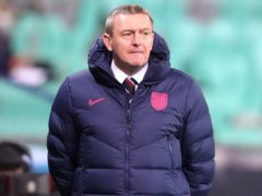 Aidy Boothroyd is under pressure as England Under-21s boss (Luka Stanzl/PA)