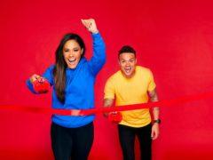 Alex Scott and Jermaine Jenas (Nicky Johnston/Comic Relief)