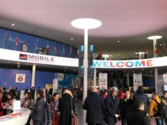Mobile World Congress (Martyn Landi/PA)