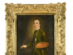 Thomas Gainsborough is thought to have created the self-portrait aged 13 in 1740 (Cheffins/PA)