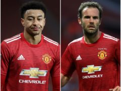 Jesse Lingard and Juan Mata could be on their way out of Manchester United in a summer shake-up (Martin Rickett/Martin Rickett/PA)