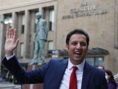 Scottish Labour leader Anas Sarwar said he wants to give people a 'different choice' in the election (Andrew Milligan/PA)
