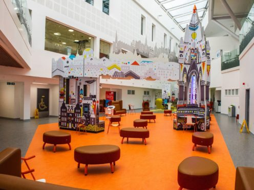 Inside the new Royal Hospital for Children and Young People (Chris Watt/PA)