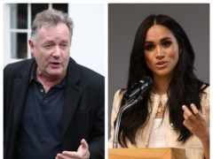 The Duchess of Sussex formally complained to ITV about Piers Morgan before the Good Morning Britain co-host quit, PA Media understands (PA)