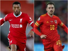 Georginio Wijnaldum and Aaron Ramsey could be on the move (Clive Brunskill/Nick Potts/PA)