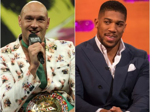 """The title fight between Tyson Fury and Anthony Joshua has been """"agreed"""" (PA)"""