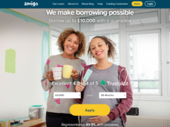 Troubled subprime lender Amigo has said the FCA has extended its probe into the firm (Amigo/PA)