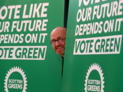 Scottish Greens are going into the election 'better prepared' than ever before, Patrick Harvie said (Andrew Milligan/PA)