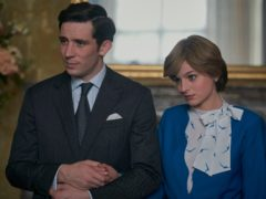 The Crown's Josh O'Connor and Emma Corrin led a night of triumph for British stars at the Golden Globes (Netflix/PA)