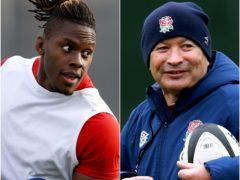 Maro Itoje has offered Eddie Jones his full backing (David Rogers/Adrian Dennis/PA)