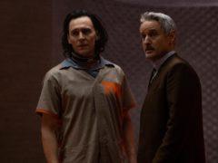 Loki (Tom Hiddleston) and Mobius (Owen Wilson) in Marvel Studios' Loki, exclusively on Disney+ (Marvel Studios)