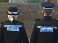 The robbery happened on the canal path in Bishopbriggs, East Dunbartonshire (David Cheskin/PA)