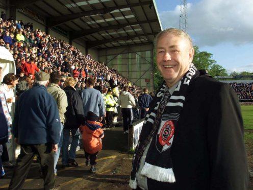 Darlington FC former chairman George Reynolds who has died (Owen Humphreys/PA)