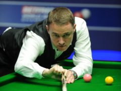 Stephen Hendry has dismissed his chances of returning to the Crucible (Anna Gowthorpe/PA)