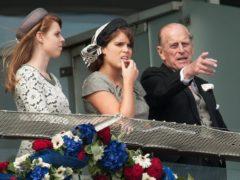 Eugenie and the Duke of Edinburgh (PA)
