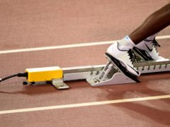 Starting blocks (Adam Davy/PA)