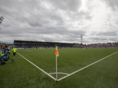 Gozie Ugwu fired Raith to victory at Palmerston Park (Jeff Holmes/PA)