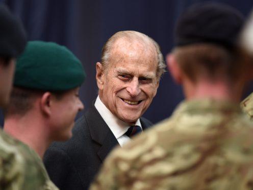 Major General Matt Holmes, Commandant General of the Royal Marines, paid tribute to the Duke of Edinburgh (Andrew Matthews/PA Archive)