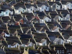 Houses in Dover, Kent. House prices hit a record high of £254,606 on average in March after jumping by 1.1% month-on-month, according to Halifax (Gareth Fuller/PA)