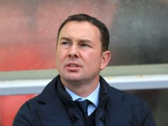 Derek Adams was pleased with Morecambe's win (Nigel French/PA)