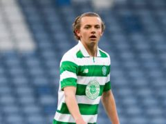 Former Celtic youth Aidan Nesbitt was on target for Morton (Jeff Holmes/PA)
