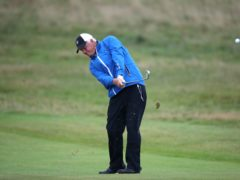 Sandy Lyle struggled on day one of the Masters (Nick Potts/PA)
