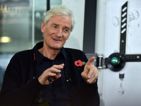 Sir James Dyson is reported to have approached Boris Johnson on a tax issue after being unable to get the assurances he was seeking from the Treasury (Jeff Overs/BBC/PA)