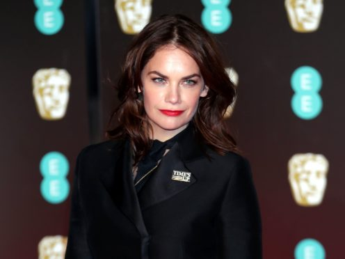 Ruth Wilson is backing Time's Up's guidelines (Yui Mok/PA)