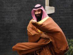 Saudi Arabia's crown prince Mohammad bin Salman (Victoria Jones/PA)