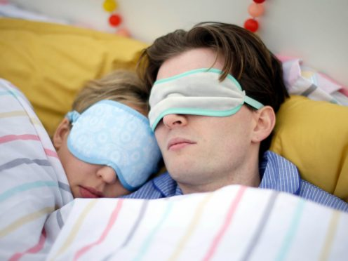 Disrupted sleep could contribute to a higher risk of death, a study suggests (Tim Ireland/PA)
