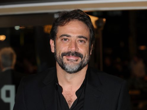 The Walking Dead star Jeffrey Dean Morgan (Zak Hussein/PA)