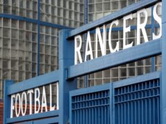Rangers have appealed against the bans handed to five players for a breach of Covid-19 regulations (Jane Barlow/PA)