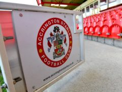 Accrington were held at home by Burton (Dave Howarth/PA)