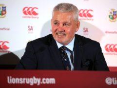 British and Irish Lions head coach Warren Gatland will take his team to Jersey for their training camp (Adam Davy/PA)