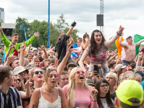 Ticket-holders will not have to socially distance (Lesley Martin/PA)