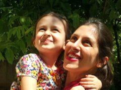 Nazanin Zaghari-Ratcliffe with her daughter Gabriella (The Free Nazanin campaign)