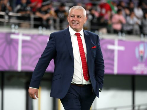 Lions boss Warren Gatland wants England's club to soften their stance on player release (David Davies/PA)