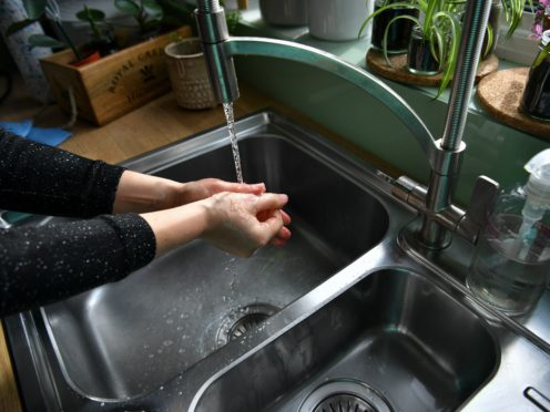 Handwashing responsible for bacteria in sinks – study (Ben Birchall/PA)