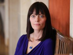 Norther Ireland's infrastructure minister Nichola Mallon said she is 'deeply concerned' after a burning car was left on a train track near Bellarena (Kelvin Boyes/Press Eye/PA)