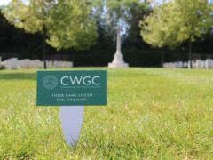 The Commonwealth War Graves Commission was originally named the Imperial War Graves Commission (Commonwealth War Graves Commission/PA)
