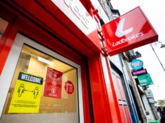 Ladbrokes owner Entain said online revenues jumped by a third in the first three months of 2021 as it continued to see strong demand from punters stuck at home (Liam McBurney/PA)