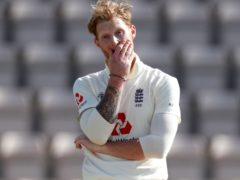Ben Stokes has broken a finger in his left hand (Adrian Dennis/NMC Pool/PA)