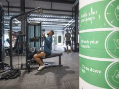 Fitness chain PureGym has revealed 'awful' losses for 2020 after sites were forced to close in the pandemic (PA)