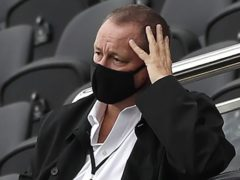 Mike Ashley is said to be encouraged by recent reports that Saudi Crown Prince Mohammed Bin Salman urged the Government to intervene regarding the takeover of the club (PA)