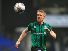Paul McShane is a doubt for Rochdale (Adam Davy/PA)