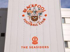 Blackpool will take on Shrewsbury without injured Daniel Gretarsson (Richard Sellers/PA)