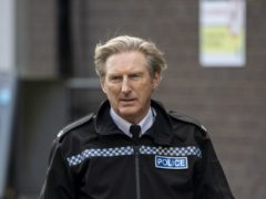 Adrian Dunbar on the set of the sixth series of Line of Duty (Liam McBurney/PA)